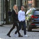 Sophie Turner with Joe Jonas out for lunch in NYC
