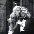 Teri with Gene Wilder in Young Frankenstein