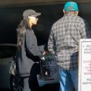 Naya Rivera in Tights – Shopping in Los Angeles - 454 x 681