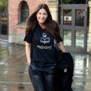 Lisa Snowdon – Leaving Hits Radio Station in Manchester - 454 x 719