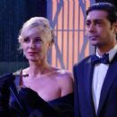 Abhi Sinha and Eileen Davidson