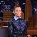 Jessica Biel – On 'The Tonight Show with Jimmy Fallon' in NY