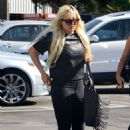 Amanda Bynes In Tight Jeans Out In La