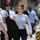 "Zoey Deutch – ""Set It Up""Movie Set in Soho in New York City 05/16/2017"