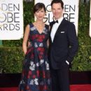 Benedict Cumberbatch and Sophie Hunter at the 72nd Annual Golden Globe Awards at the Beverley Hilton Hotel in Beverly Hills - 402 x 594
