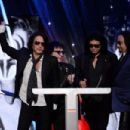 Rock And Roll Hall Of Fame Induction Show on April 10, 2014 in NYC