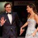 Martina Stoessel and Juan Pedro Lanzani- 'El Clan' Premiere - 72nd Venice Film Festival - 454 x 292