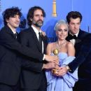 Mark Ronson, Anthony Rossomando, Lady Gaga and Andrew Wyatt At The 76th Golden Globe Awards (2019) - 454 x 354