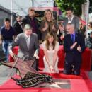 Allison Janney's newly unveiled Star at her Hollywood Walk of Fame star ceremony on October 17, 2016 in Hollywood, California