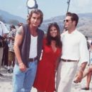 Yasmine Bleeth and David Charvet