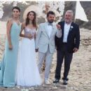 Beren Saat and Kenan Dogulu wedding photos