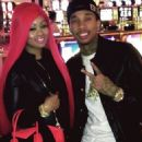 Blac Chyna and Tyga Celebrating New Years Eve in Las Vegas - December 31, 2012