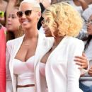 Blac Chyna and Amber Rose Attend the 2015 BET Awards at the Microsoft Theater  in Los Angeles, California - June 28, 2015 - 454 x 674