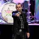 Ringo Starr performs during the Ringo Starr and his All Starr Band concert at The Greek Theatre on September 01, 2019 in Los Angeles, California - 454 x 551
