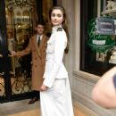 Taylor Marie Hill  – Outside the Ralph Lauren Show in NYC