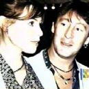 Olivia D'Abo and Julian Lennon