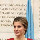 Spanish Royals At FAO In Rome
