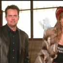 Matthew Perry and Elizabeth Hurley in Paramount's Serving Sara directed by Reginald Hudlin - 2002