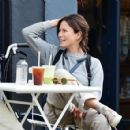Rhona Mitra – Out in Notting Hill - 454 x 424
