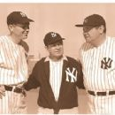 Bill Dickey, Harry Harvey & Babe Ruth - 454 x 344