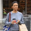 Thandie Newton gets some coffee in Beverly Hills, California on January 9, 2017 - 454 x 592