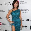 Cheryl Burke Oscars 2014 Elton John Aids Foundation Academy Awards Party