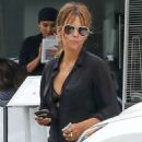 Halle Berry at District Eatery in West Hollywood