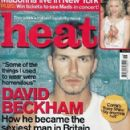 David Beckham - Heat Magazine Cover [United Kingdom] (18 November 2000)