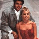 Nicole Eggert and David Charvet