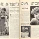 Anne Shirley - Picture Play Magazine Pictorial [United States] (April 1935) - 454 x 317