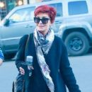 Sharon Osbourne was spotted out shopping at Melrose Place in West Hollywood, California on January 8, 2016