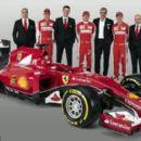 Ferrari unveil 2015 car which will be driven by Sebastian Vettel and Kimi Raikkonen - 454 x 273