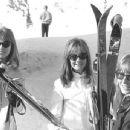 Pattie Boyd, Sonnie Drane and Cynthia Powell, 1965