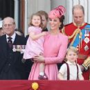 Prince Windsor and Kate Middleton : Trooping the Colour 2017 - 454 x 358