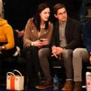 Rachel Brosnahan and Jason Ralph – Boston Celtics vs New York Knicks game - 454 x 483