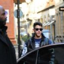 Nick Jonas and Priyanka Chopra – Valentine's Day lunch in Milan - 454 x 301
