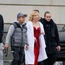 Cate Blanchett – Shoot a new campaign for Giorgio Armani in Barcelona - 454 x 596