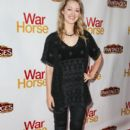 Actress Ella Rae Peck attends the 'War Horse' red carpet opening night at the Pantages Theatre on October 8, 2013 in Hollywood, California - 396 x 594