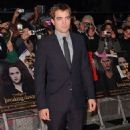 Robert Pattinson at the UK premiere of The Twilight Saga Breaking Dawn Part 2