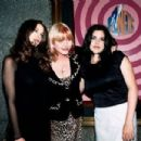 Liv Tyler, Bebe Buell and sister Mia Tyler At The MTV Video Music Awards 1995