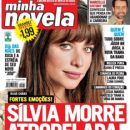 Aline Moraes, Two Faces - Minha Novela Magazine Cover [Brazil] (9 May 2008)