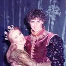 Robert Meadmore (As Lancelot) Meg Bussert In The 1982 Broadway Revivel Of CAMELOT Starring Richard Harris - 454 x 605