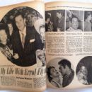 Errol Flynn - Silver Screen Magazine Pictorial [United States] (July 1951)