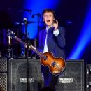 Paul McCartney performs on Opening Night of the One On One Tour at Save Mart Center on April 13, 2016 in Fresno, California - 454 x 337