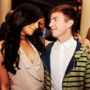 Naya Rivera and Kevin McHale - 454 x 445