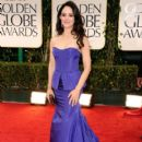 Madeleine Stowe arrives at the 69th Annual Golden Globe Awards held at the Beverly Hilton Hotel on January 15, 2012 in Beverly Hills