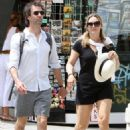 Kate Winslet and her husband Ned Rocknroll out in Venice - 454 x 625