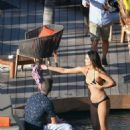 April Love Geary in Bikini Photoshoot in St. Barts - 454 x 682