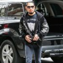 Dave Navarro is spotted out and about in New York City, New York on December 17, 2014