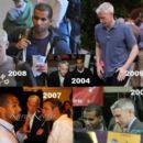 A montage of photos of Cesar Recio and Anderson Cooper.